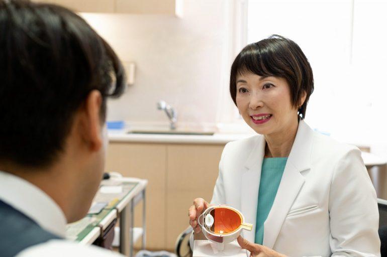 眼科専門医がトータルにサポート