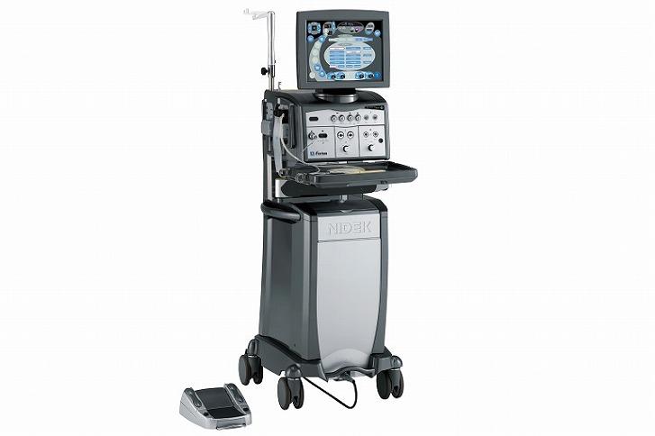 白内障手術+硝子体手術機器:Fortas