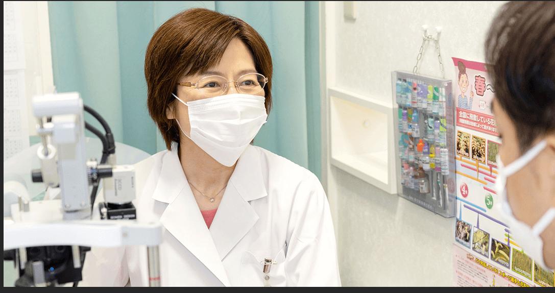ドライアイや眼精疲労、緑内障・白内障の診療など、幅広く診察。レーシックやICL、オルソケラトロジーも相談可能